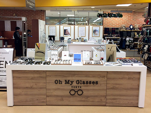 Oh My Glasses TOKYO 横浜ロフト店